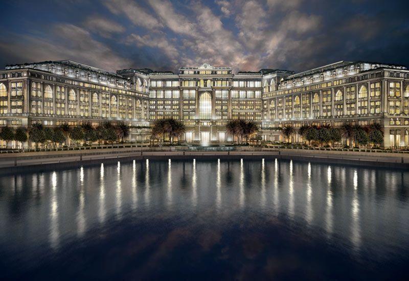 Palazzo-Versace-Dubai-Night