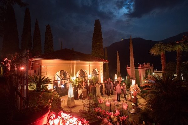 A shot from the Pre-wedding Dinner of a very high profile client in Lake Como, Italy